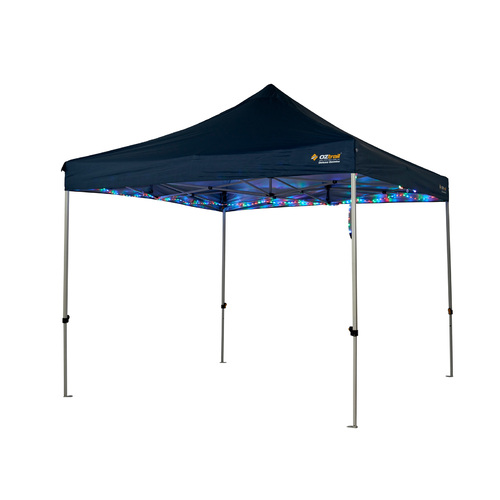 Oztrail Gazebo 12M Rope Party Light Multicoloured