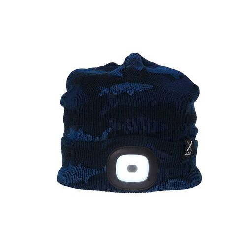 Xtm Performance Blinder Beanie - Navy Camo