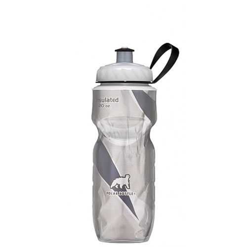 POLAR BOTTLE BLACK PATTERN 20OZ WATER BOTTLE
