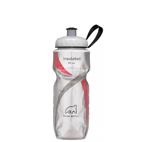 Polar Bottle Red Pattern 20Oz Water Bottle