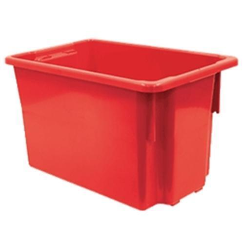 Storage Crate Red 68.2L No15 Nally IH078RED