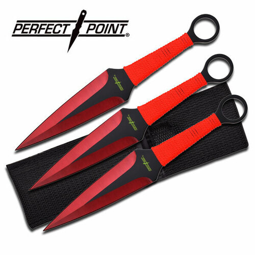 Perfect Point Set Of 3 Throwing Knives (Pp-869-3Rd)
