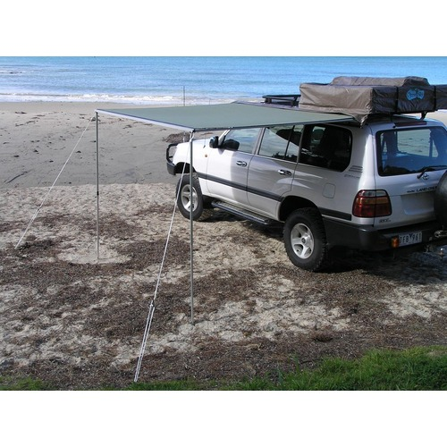Bushranger Awning 2.5m. (2.5m x 2.5m) Package Deal (Awning, Wind Break & Ground Sheet Kit)