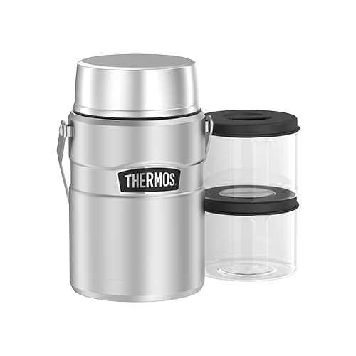Thermos 1.39L Stainless King Big Boss Food Jar - Stainless Steel