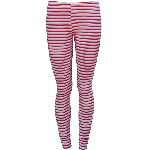 Xtm Kids Polypro Thermal Pants Pink Stripe Size 10